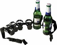 Beer Bottle Belt Holder Holds Six Bottles of Lager Fun Novelty Christmas Gift