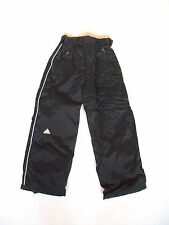 "Childs Wannabee Black Snow Boarding Trousers  Sz Age 10 yrs Waist 22"" "" VG #936"