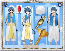 Japan Anime Magi Aladdin Cosplay Costume