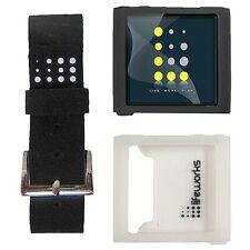 LifeWorks Ipod Nano 6G  Wristwatch Kit plus Bonus~Black & White, Model# LW-6N303