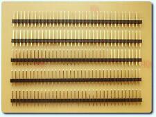5x 36 vías de una fila recto Pin Conector PCB de encabezado