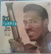 IKE TURNER - DOWN AND OUT - 1951-59 RECORDINGS - SUPERB R&B ROCK & ROLL - LP