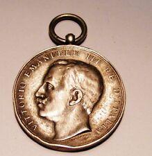 Italian Silver Earthquake Messina Medal . Ve Iii. 1908 .