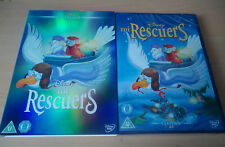 The Rescuers DISNEY #23 DVD & LIMITED EDITION O RING SLIP CASE COVER SLEEVE NEW