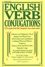 English Verb Conjugations: 123 Irregular Verbs Ful
