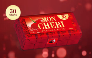 Mon Cheri Dark Chocolates 30 Piece 315g Box of Cherry Liquor imported Pralines