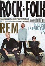 Rock & Folk #405 -R.E.M.- Springsteen, Syd Barrett,...