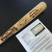 Yogi Berra & Bill Dickey Signed Louisville Slugger Baseball Bat With JSA COA