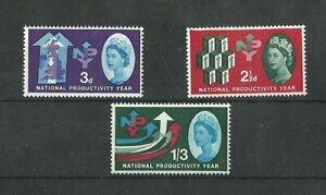 Great Britain 1962 NATIONAL PRODUCTIVITY YEAR ORD MNH