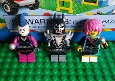 LEGO Minifigure Lot Series 7 Batman Movie Glam Rock Lot Rocker Girl Mime Metal
