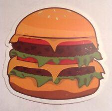 Pegatina/sticker/autocollant/ Adesivo/Etiket/ Aufkleber: Hamburguer/ Hamburguesa