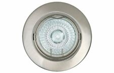 OBI-Eco-Hallogen Recessed Spot Nickel, Swivel, Dimmable 1x gu10 42w