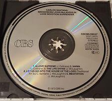 Carlos Santana Mahavishnu John McLaughlin - Love Devotion Surrender, Japan CD