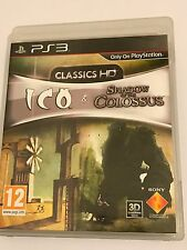 Ico and shadow of the colossus: classics hd-PS3 complet très bon état * free uk post *