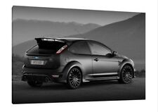 Ford Focus RS 500 - 30x20 Inch Canvas Art Work - Framed Picture Poster Print