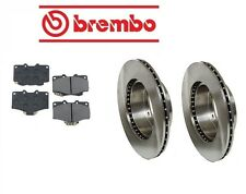 Fits Toyota Pickup 8/88-10/95 Brake Kit Front Brake Rotors with Pads Brembo