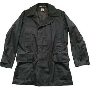 Paul Smith Jeans British Falconer Taupe Waterproof Overcoat Jacket Coat