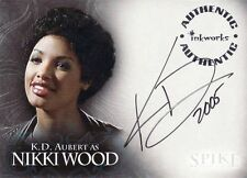 Buffy Tvs - Spike Tcs - K. D. Aubert As Nikki Wood Autograph Card - #A5