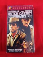 Butch Cassidy and the Sundance Kid (VHS, 1997) Paul Newman Robert Redford NEW
