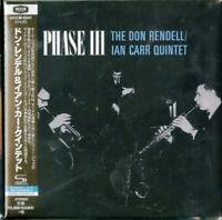 DON RENDELL / IAN CARR QUINTET-PHASE III-JAPAN MINI LP SHM-CD Ltd/Ed E25