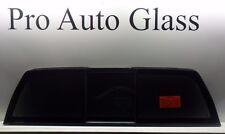2014-2015 Chevy/GMC Silverado/Sierra Rear Window Sliding Back Glass Tinted