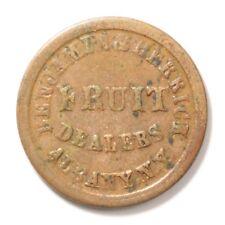 Benjamin & Herrick, Fuld Ny Albany 10A-5a Vf R2 1863 Civil War Store Card