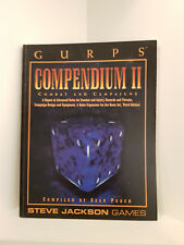 GURPS: Compendium II, RPG Steve Jackson Games, Softcover