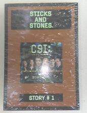 CSI:  Board Game Sealed cards!  STORY #1, STICKS & STONES