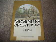 MEMORIES OF YESTERDAY PB A Collection Of Photographs Taken 1846 - 1930 CHESTER