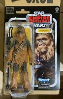 "STAR WARS BLACK SERIES CHEWBACCA ESB 40TH ANNIVERSARY 6"" ACTION FIGURE NEW MINT"