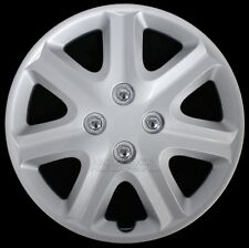 "15"" Set of 4 Wheel Covers Snap On Full Hub Caps fit R15 Tire & Steel Rim Hubcaps"