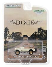 1:64 GreenLight THE DUKES OF HAZZARD Daisy's DIXIE Jeep CJ-7 Golden Eagle NIP
