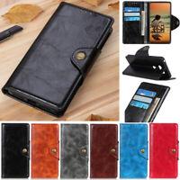Luxury Wallet Leather Flip Case Cover For LG Q60 Q70 Stylo 5 G8 K40 K50s K61 G8X