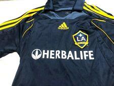 Men's adidas David Beckham #23 MLS LA Galaxy Soccer Jersey Herbalife Blue Small