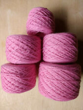 New Listing100% Cashmere Yarn 6 3/4 oz 192 g Sport Weight 2 2-ply Pink Recycled Upcycled 
