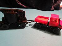 Kibri h0 16307 Unimog 2-caminos con retroexcavadora nuevo//en el embalaje original