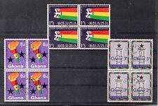 Ghana 2º Aniversario de la Republica serie del año 1962 (CU-49)