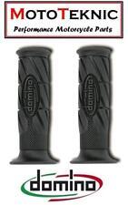 Aprilia 50 Viper-Replica Domino Road Monochrome Grips Black (Pair)