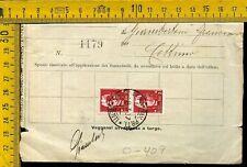Regno imperiale O 407 multa al postino