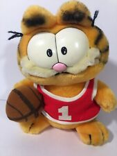 1981 Vintage Dakin Plush Garfield Rare Stuffed Cat Animal Htf