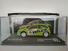 1/43 SEAT IBIZA KIT CAR ROVANPERA 1996 UK NETWORK RALLY IXO CAR ESCALA DIECAST