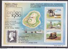 Nauru Australia TB bloc locomotives phosphate 1980 expo internationale **
