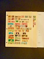 Thailand Lot of 72 Stamps MNH & Used High CV - See Description and Images
