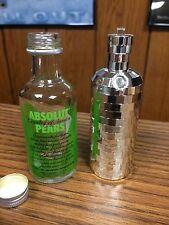 RARE ABSOLUT VODKA 50ML SILVER DISCO -NO GUSTAFSON GLOW LA CNC NOX