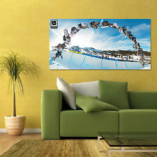 BURTON SNOWBOARD POSTER X GAMES SNOW SPORTS LARGE POSTER 24x48in