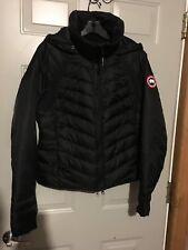 Canada Goose Hybridge Base Jacket With Hood Women's Medium Black New With Tags!
