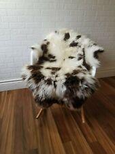 Sheepskin rug Scandinavian soft Dense wool rare color 100% natural #1