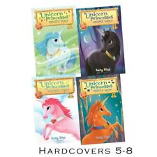 UNICORN PRINCESSES Childrens Series by Emily Bliss HARDCOVER Set of Books 5-8