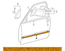 TOYOTA OEM 00-01 Camry FRONT DOOR-Body Side Molding Right 7573133140C0