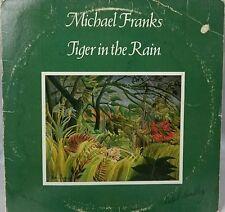 Michael Franks tiger in the rain                       LP Record